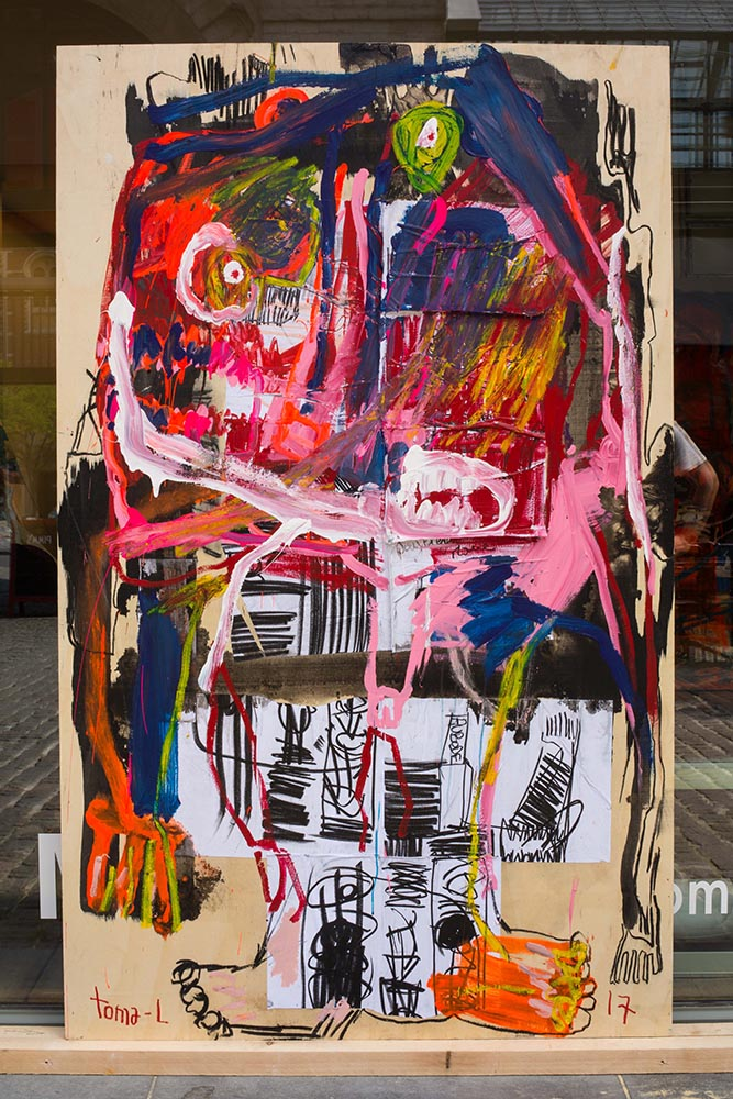 Patch and trash color  